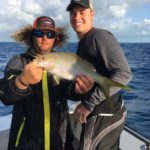 Islamorada april fishing report yellowtail flag