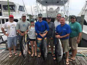 Ocean City fishing report tuna