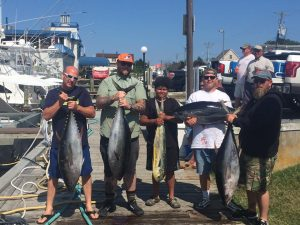 Live offshore fishing report 7-9