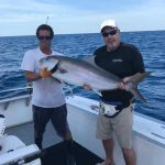 Islamorada fishing in December 2017 amberjack