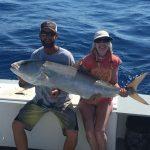 Islamorada April fishing report amberjack