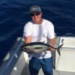 Islamorada October fishing blackfin