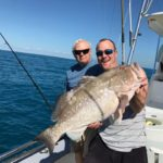 Islamorada January fishing red grouper