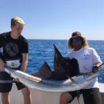 Islamorada fishing report March big sailfish