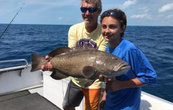 March Islamorada fishing report black grouper