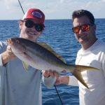 Islamorada fishingbig yellowtail snapper